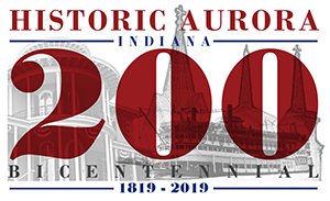 City of Aurora's 200 Year Bicentennial, 1819 - 2019.