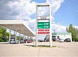 BP Gas Station on US 50 in Aurora, Indiana - SOLD.