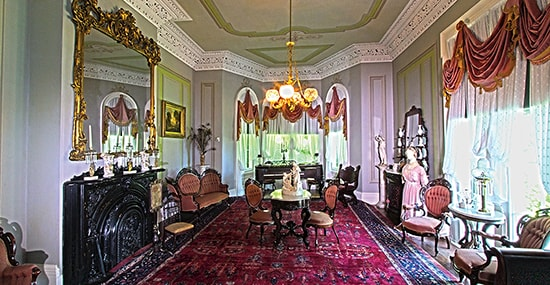 The Right Room inside Hillforest Mansion.