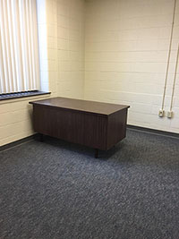 Available room for lease in the ARCC facility in Aurora, Indiana.