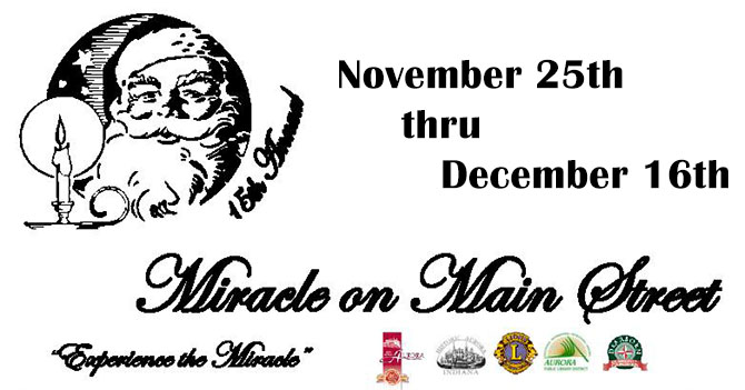 Fifteenth Miracle on Main Street event.