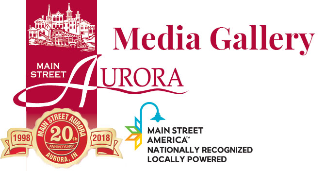 Main Street Aurora page title card - Media Gallery.