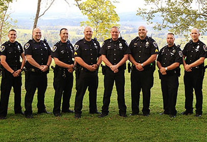 Aurora Police Department group picture.