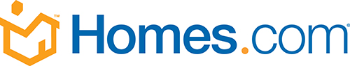 Homes.com website logo.